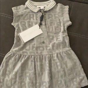 Burberry Brigitta Knit Polo dress